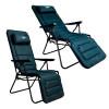 """Шезлонг - кресло раскладное с подушкой """"Фиджи"""" для отдыха с подголовником"""